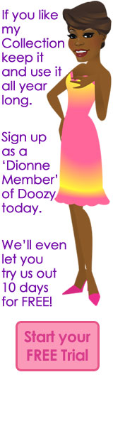 dionne warwick ecards by doozy cards, Birthday card