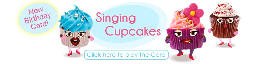 Singing Cupcakes Birthday eCard
