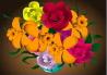 Singing Flowers Bday