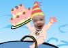 Baby Birthday Party Invite e-card