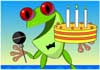 Froggy Birthday Invite ecard