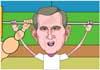 Bush & Arnold Have a Nice Day ecard