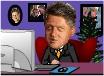 Clinton New Year e-card
