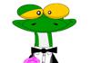 Gecko Belated Birthday Ecard