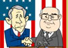 Bush and Cheney Friendship
