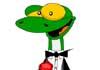 Gecko Get Back to Work Ecard
