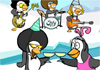 Funky Penguin New Year