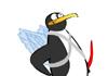 Penguin Hugs and Kisses Valentine