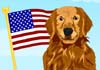 Talking Patriotic Pooch