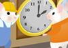 Clock Changing Time - Spring